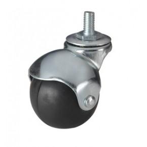 专业的小规格脚轮生产工厂 生产供应 1.5寸和2寸橡胶球轮脚轮