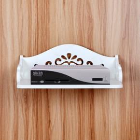 特价创意镂空欧式雕花电视机顶盒架壁挂搁板 墙上置物架