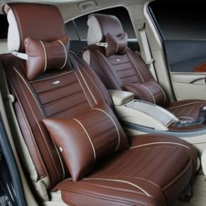 新款皮质汽车坐垫亚麻座垫汽车内饰用品坐套厂家批发四季通用座套