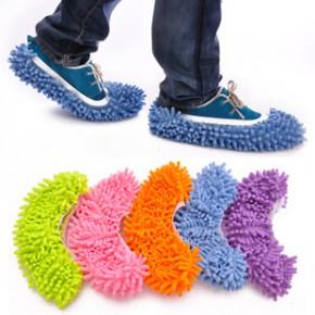 雪尼尔拖地鞋套 懒人鞋套 擦地拖鞋套 拖把头套 清洁鞋套 单只价