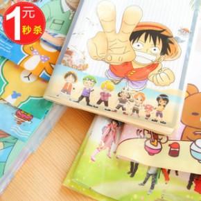 8375 优湃文具 韩国可爱轻松熊学生卡通创意环保书套 16K