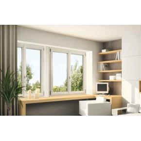 18年门窗制造经验,德国100%无铅配方塑钢型材,全球顶级覆膜技术