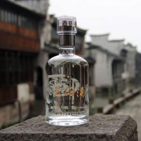 乌镇特产历史文化名酒陶复昌低度米香型八年陈酿三白酒