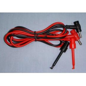 多用途耐压1000V可通过10A电流带双勾测量线夹具
