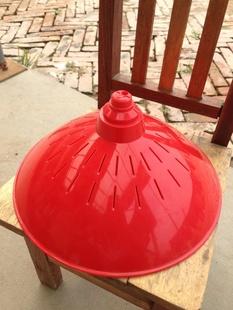 特大号灯杯外壳 外径260mm 双透气孔散热 生鲜猪肉灯外壳