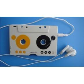 复古车载MP3 卡带机转换器 数码磁带随身听 插SD卡mp3播放器