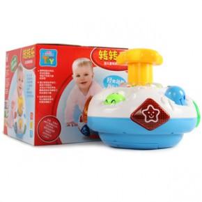 儿童音乐灯光旋转玩具转转乐 婴幼儿启蒙早教玩具 宝宝玩具