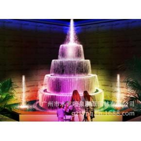 室内水景设计,水景效果制作,喷泉水景施工