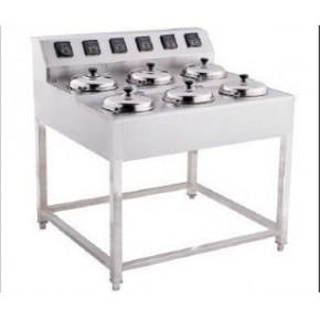 广州 卖智能煲仔饭机|六头电煲仔饭机器|全现代煲仔饭机子