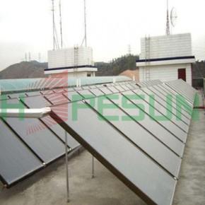 不锈钢太阳能 蓝钛集热器进口全铜蓝膜壁挂式平板集热器