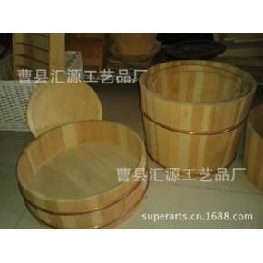 出口 盛面拌饭木桶 寿司木质拌饭盆  厨房用环保天然实木