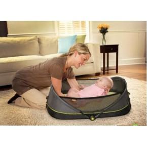 Brica Fold N' Go 旅行 婴儿床 可折叠 户外婴幼床