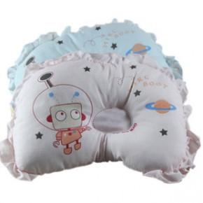 卡通嘟嘟猫 宝宝定型枕 纯棉材质 儿童定型枕头不扁头 健康枕3色