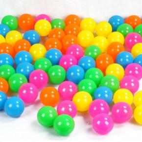 环保无毒海洋球 彩球 婴幼儿童玩具球游泳玩具帐篷球5.5CM