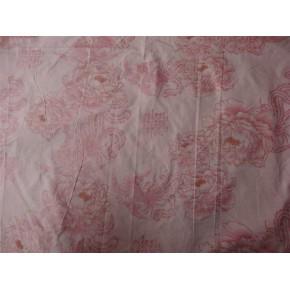 珠光粉印花磨毛布