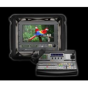 高清八讯道光纤便携式移动演播系统