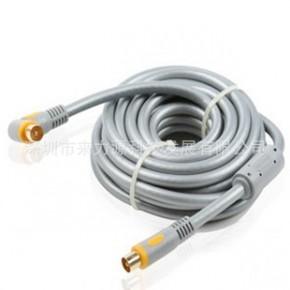 液晶电视射频线 闭路线 带磁环 5米 TV9.5 TV95 CATV CABLE