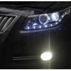 丰田霸道改装海拉3双光透镜氙气灯,日行灯85050877