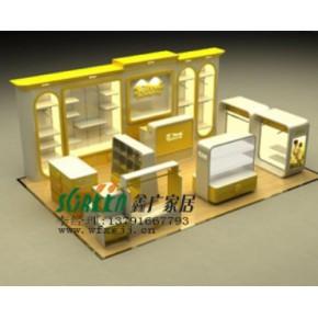 潍坊服装展柜 展示柜 展台 展示架 柜台 货架0312