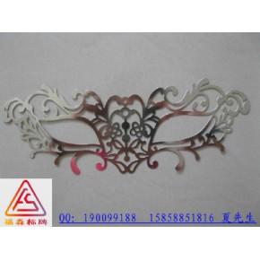 温州标牌厂专业生产电铸标牌 超薄分体金属标牌