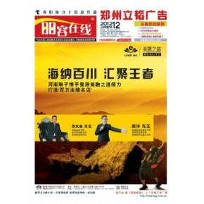 河南山东丽容在线美容DM招商广告杂志