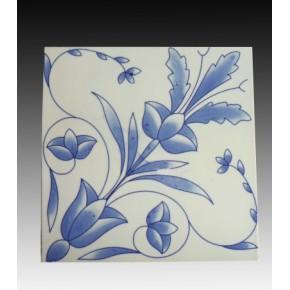 青花瓷片,装饰品青花瓷片,景德镇陶瓷瓷片定做瓷片