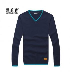 远航者男士时尚男毛衣棉质男韩版针织衫Y903