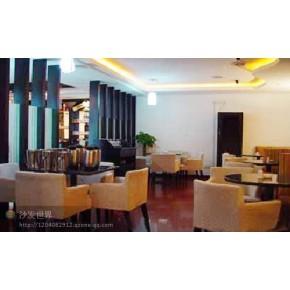 软包椅 杭州咖啡厅实木软包椅出售