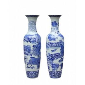 婚庆礼品,大花瓶,景德镇陶瓷大花瓶,青花瓷花瓶