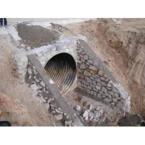 宝鸡钢波纹管涵 西安排水管道工程 首选陕西镇德
