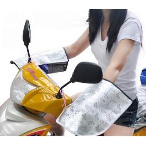 防紫外线 防晒手套 电瓶车抗UV把套 摩托车电动车防晒手套