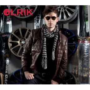 【OLRIK】2013冬款男士皮衣 男式修身加厚PU皮衣 皮夹克