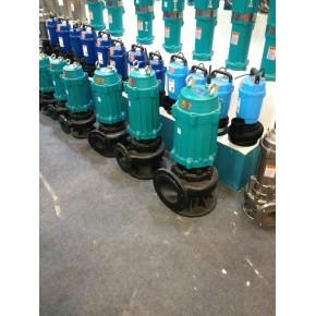 天津自动喷压搅匀排污泵,绞刀式污水泵