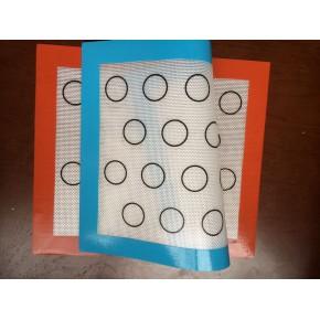美国马卡龙烘焙专用硅胶玻纤垫