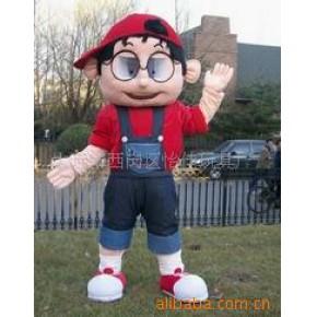 大连卡通人偶服装玩具加工制作/大型填充毛绒玩具/人偶服装玩具