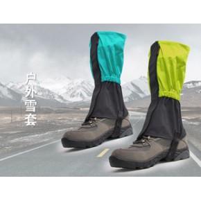 高品质户外防水 滑雪骑行登山装备 脚套 雪套 雪爪 冰爪 防雪护腿