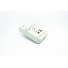 宁波 美标 转换插座、带USB充电接口 转换插座 排插ETL 认证