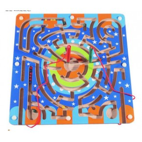 一件代发 熙悦儿童益智玩具开发智力磁性运笔迷宫亲子游戏动物