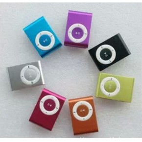 金属插卡夹子MP3 无屏 插卡mp3 可定做LOGO 礼品MP3