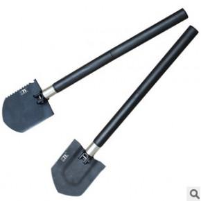 多功能户外铲 ABS塑料可拆 折叠工兵铲 折叠铲 多功能铲