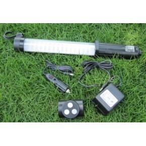 LED手提检修灯 60+17LED防爆工作灯 应急故障检修灯 带磁铁支架