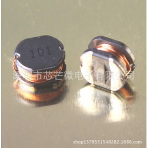 CD105 功率电感工字型绕线CD1054-101M CD105-100uH滤波