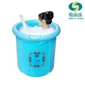 蜀丽康折叠浴桶充气 浴缸 泡澡 成人浴盆坐浴 泡澡桶/宝宝洗澡桶