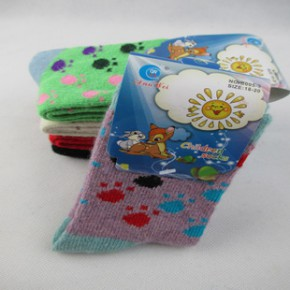 魔蛋袜子 儿童羊毛袜 厂家直销 质量可靠 品牌保证 兔羊毛 童袜