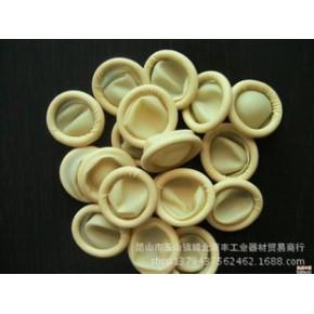 防静电米黄色一次性乳胶橡胶劳保加厚批发手指套