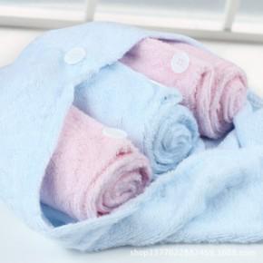 儿童沐浴帽洗头帽批发 韩国干发帽 超强吸水婴幼儿宝洗澡浴帽系列