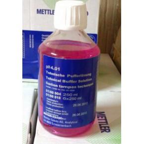 梅特勒4.01 PH缓冲液 250ML/瓶,酸度计校准溶液51350004