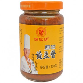 一瓶代发 源溪坊原味黄豆酱 天然绿色 黄豆酱批发代理