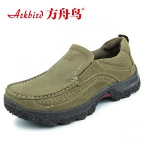 新款男士休闲鞋男鞋批发透气皮鞋真皮韩版时尚板鞋登山户外鞋8887