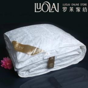 罗莱家纺单双人全棉子母被蚕丝被100%桑蚕丝二合一子母被